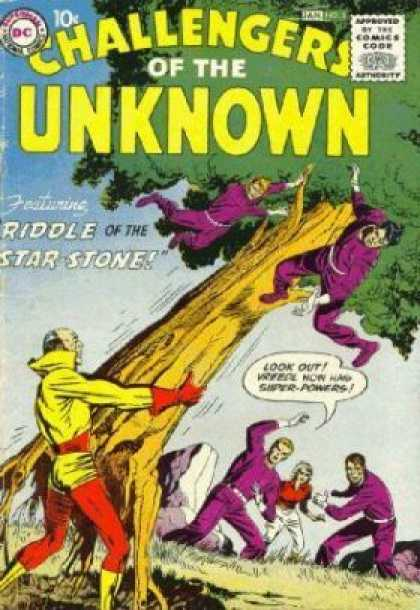 Challengers of the Unknown A1 Comix Comic Book Database