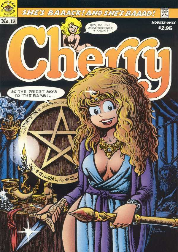 Cherry Poptart A1 Comix Comic Book Database