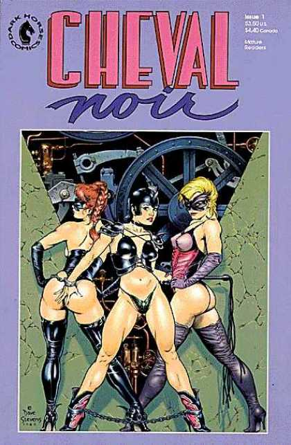 Cheval Noir Comic Book Back Issues by A1 Comix