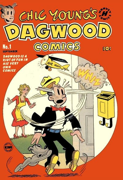 Chic Young's Dagwood Comics Comic Book Back Issues by A1 Comix