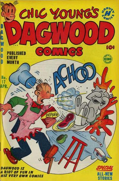 Chic Young's Dagwood Comics A1 Comix Comic Book Database