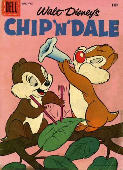 Chip 'n' Dale Comic Book Back Issues by A1 Comix