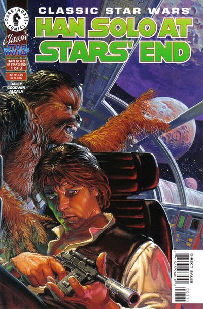 Classic Star Wars Han Solo at Stars' End Comic Book Back Issues by A1 Comix