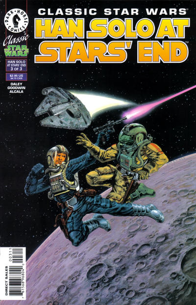 Classic Star Wars Han Solo at Stars' End A1 Comix Comic Book Database