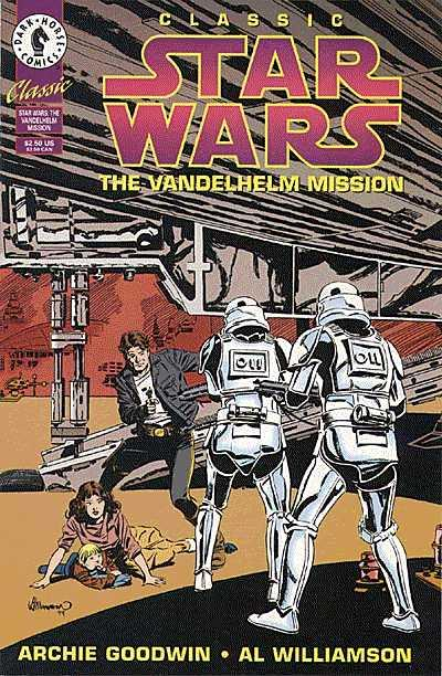 Classic Star Wars The Vandelhelm Mission Comic Book Back Issues by A1 Comix