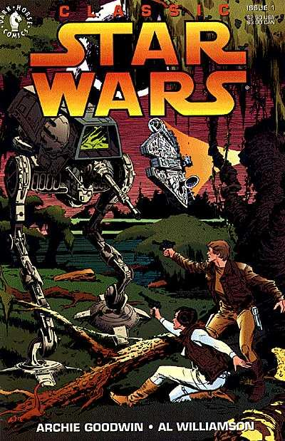 Classic Star Wars Comic Book Back Issues by A1 Comix