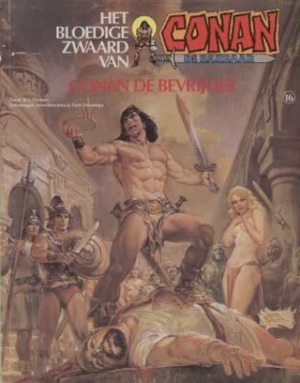 Conan de Barbaar A1 Comix Comic Book Database