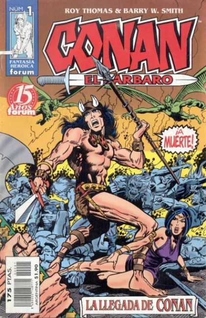 Conan el Barbaro Comic Book Back Issues by A1 Comix