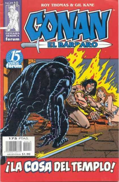 Conan el Barbaro A1 Comix Comic Book Database