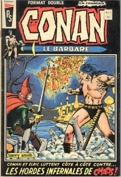 Conan le Barbare Comic Book Back Issues by A1 Comix
