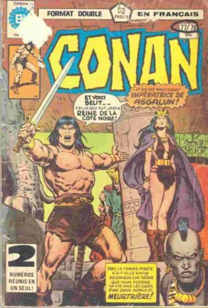 Conan le Barbare A1 Comix Comic Book Database