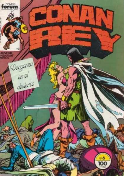 Conan Rey A1 Comix Comic Book Database