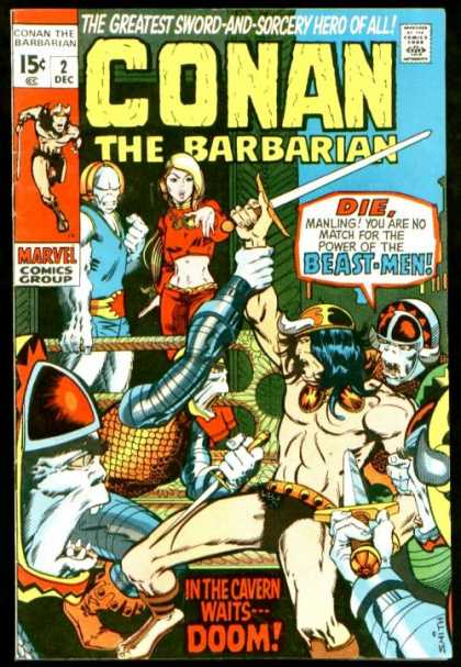 Conan the Barbarian A1 Comix Comic Book Database