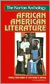 The Norton Anthology of African American Literature book written by Henry Louis Gates Jr