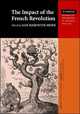 Impact of the French Revolution book written by Iain Hampsher-Monk