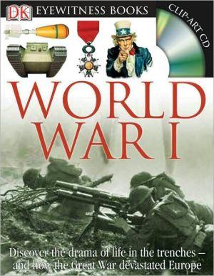 Eyewitness World War I book written by Simon Adams