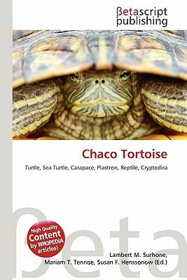 Chaco Tortoise written by Lambert M. Surhone