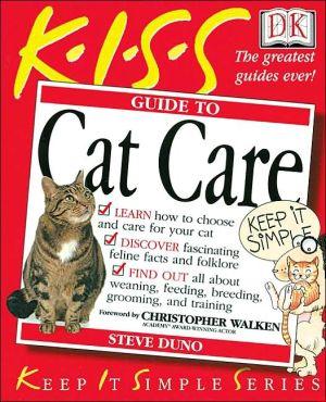 Cat Care book written by Steve Duno, Christopher Walken