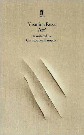 Art book written by Yasmina Reza