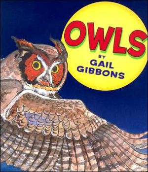 Owls book written by Gail Gibbons