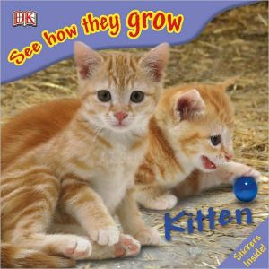 Kitten: See How They Grow book written by DK Publishing