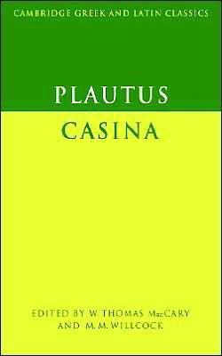 Plautus: Casina book written by Titus Maccius Plautus