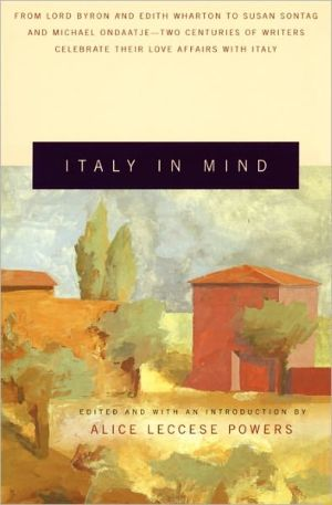 Italy in mind book written by Alice Leccese Powers