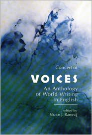 Concert of Voices: An Anthology of World Writing in English written by Victor J. Ramraj