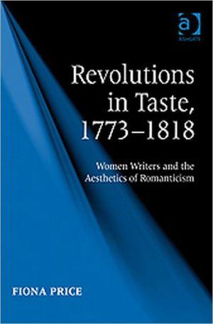 Revolutions in Taste 17733ed/ book written by Fiona Price