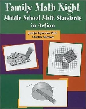 Family Math Night: Math Standards in Action in Middle School book written by Jennifer Taylor-Cox