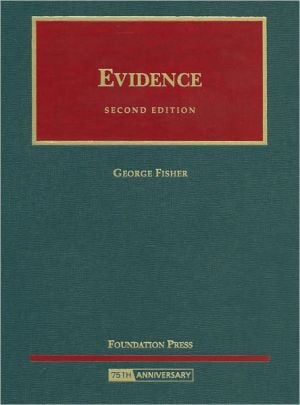 Evidence book written by George Fisher