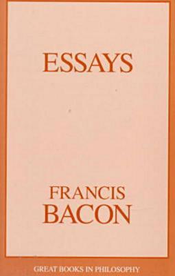 Essays book written by Francis Bacon
