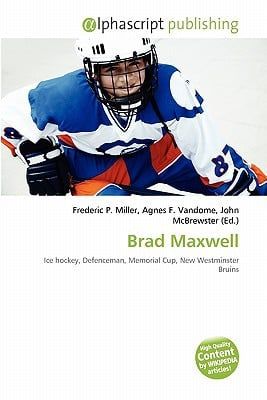 Brad Maxwell written by Frederic P. Miller