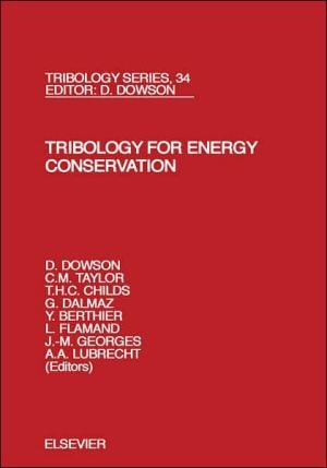 Tribology For Energy Ts34h book written by L. Flam&
