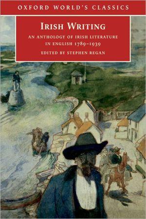 Irish writing book written by Stephen Regan
