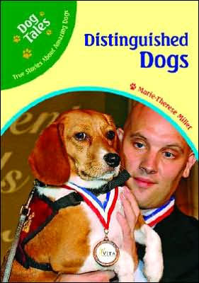 Distinguished Dogs book written by Marie-Therese Miller