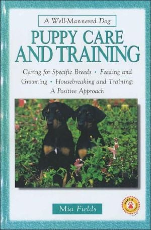 Puppy Care and Training book written by Bardi McLennan