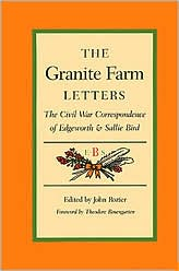 The Granite farm letters book written by John Rozier; foreword by Theodore Rosengarden