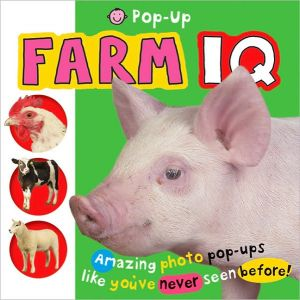 Pop Up Farm IQ book written by Roger Priddy