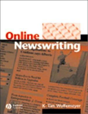Online Newswriting book written by Wulfemeyer