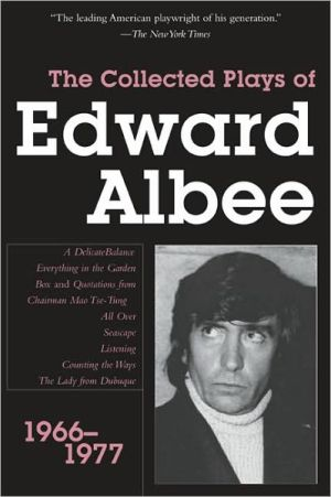 Collected Plays of Edward Albee: 1966-1977 book written by Edward Albee