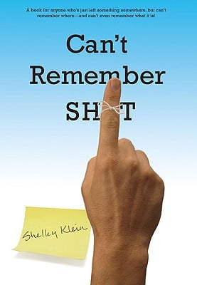 Can't Remember Sh*t book written by Shelley Klein