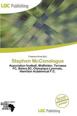 Stephen McConalogue written by Timoteus Elmo