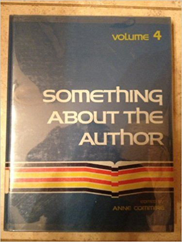 Something about the Author, Vol. 4 written by Anne Commrie