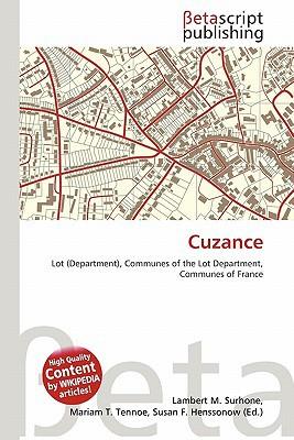 Cuzance written by Lambert M. Surhone