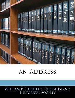 An Address book written by Sheffield, William P. , Rhode Island Historical Society, Island Historical Society