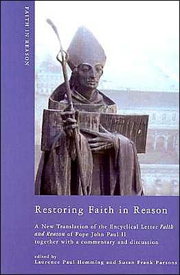 Restoring Faith In Reason book written by Laurence Paul Hemming