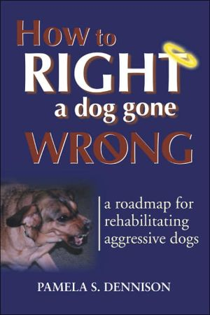How to Right a Dog Gone Wrong: A Road Map for Rehabilitating Aggressive Dogs book written by Pamela S. Dennison