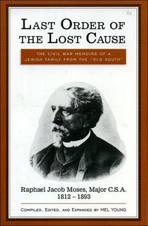 Last order of the lost cause book written by Mel Young