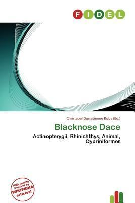 Blacknose Dace written by Christabel Donatienne Ruby